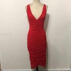 Jean Paul Gaultier Red sexy Pencil Dress Bandage